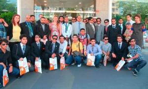 Dünyagöz'ü Suudi Arabistan'dan 100 tıp öğrencisi ziyaret etti