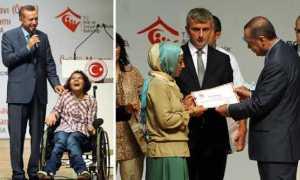 Büşra, Erdoğan'ı duygulandırdı