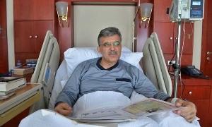 Gül'ün Hastaneden ilk fotoğrafı Twitter'da