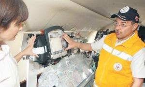 Sağlık Bakanlığı'nın uçan hastane gururu