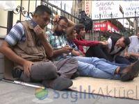 Engellilerin açlık grevi devam ediyor