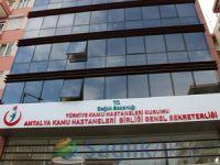 Antalya kamu hastanelerinde 9 milyon poliklinik hizmeti verildi
