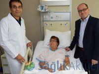 Alman doktorların korktuğu nakli Türk doktorlar yaptı