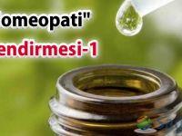 """Bir """"Homeopati"""" değerlendirmesi-1"""
