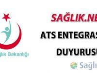 Aşı takip Sistemi (ATS) bilgilendirme duyurusu
