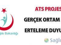 THSK ATS Projesi Gerçek Ortam Geçişi Erteleme Duyurusu