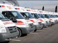 Sağlık Bakanlığı'ndan çeşitli illere ambulans tahsisi
