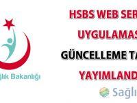 HSBS Web Servis Uygulaması 06.02.2015 tarihinde güncellenecek!