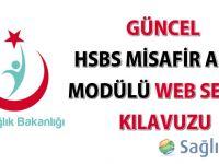 HSBS Misafir Anne Modülü Web Servis Kılavuzu güncellendi