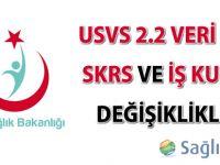 USVS 2.2 Veri Seti, SKRS ve İş Kuralı Değişiklikleri erteleme