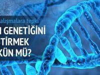 İnsan genetiğini değiştirmeye tepki