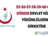 55-56-57-58-59-60-61-62.Dönem Devlet Hizmeti Yükümlülerinin Dikkatine-14.09.2015