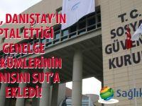 SGK, Danıştay'ın iptal ettiği genelge hükümlerinin aynısını SUT'a ekledi!