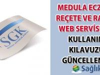 Medula E-Reçete Kullanım Kılavuzu güncellendi-18.01.2021