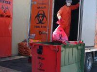 Sağlık kuruluşlarından 2016'da 81 bin ton tıbbi atık toplandı