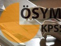 2016 KPSS ortaöğretim/ön lisans adaylarının dikkatine duyuru