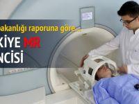 Türkiye MR kullanımında birinci, tomografide ikinci
