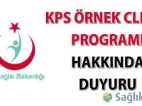 KPS Örnek Clıent Programı hakkında duyuru