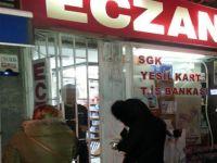 Nöbetçi eczaneler 'kepenk arkasından satış' uygulamasına başladı