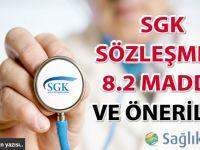SGK Sözleşmesi 8.2 madde ve öneriler