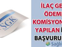 İlaç Geri Ödeme Komisyonuna Yapılan İlaç Başvuruları hakkında duyuru-08.03.2016