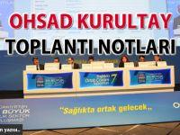 OHSAD Kurultay toplantı notları