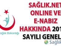 Sağlık.Net Online ve e-Nabız Hakkında 2016/6 Sayılı Genelge