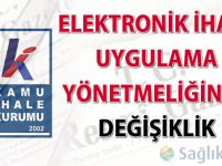 Elektronik İhale Uygulama Yönetmeliğinde değişiklik yapıldı-27.05.2016