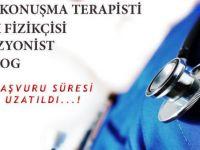 Odyolog, perfüzyonist, sağlık fizikçisi, dil ve konuşma terapisti adayları için başvuru süresi uzatıldı!