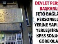 DPB: FETÖ hastaneleri için yerleştirmeler KPSS sonucuna göre yapılacak