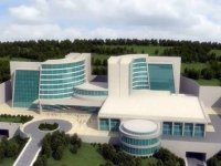 TKHK Başkanı Cihan, Yozgat Şehir Hastanesi inşaatını inceledi