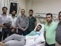 Asistan doktorun kolu hasta tarafından kırıldı