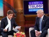 Donald Trump sağlık durumunu Mehmet Öz'e açıkladı