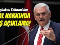 Başbakan Yıldırım'dan flaş OHAL açıklaması!