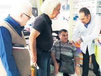 Görme engelliler için konuşan ilaç