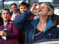Kararay, bir bardak zeytinyağı içti