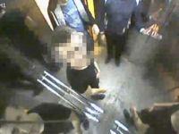 Engelli asansörünü paramparça ettiler