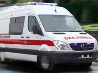 14 yaşındaki çocuğun kullandığı kamyonet devrildi: 3 yaralı