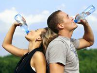 Yürüyüş yaparken daha çok yağ yağmak için su için!