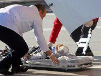 Üzerine okul kapısı düşen öğrenci yaralandı