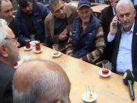 Başbakan, sağlıkla ilgili şikayetçi vatandaşı Recep Akdağ'la görüştürdü