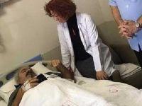 Hastane bahçesinde dehşet! Hasta, doktoru defalarca bıçakladı
