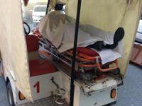 Hastane bahçesinde ölü bulundu