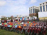 Sağlık Bakanlığı 650 bisiklet dağıttı