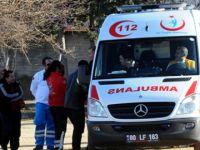 Kaynar süt dolu kazana düşen çocuk yaralandı