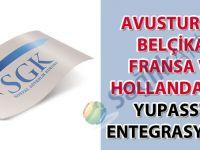 Avusturya, Belçika, Fransa ve Hollanda'nın YUPASS'a entegrasyonu