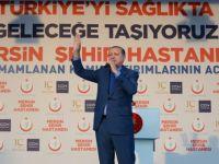 Türkiye'nin ilk entegre şehir hastanesi açıldı