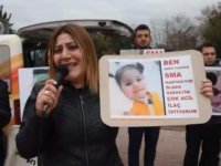 SMA hasta yakınlarından 'pahalı ilaç' eylemi