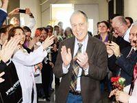 Eski TTB Başkanı, 29 yıl görev yaptığı Marmara Üniversitesi'ne veda etti