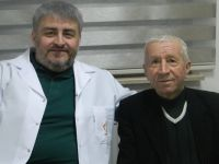 Bursa'da ilk defa FET (donmuş fil hortumu) tekniği ile ameliyat
